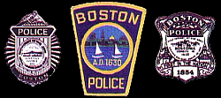 Boston Police Badges