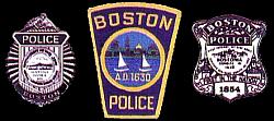 Boston Police Badges